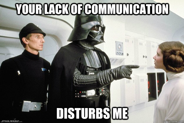 vader communication