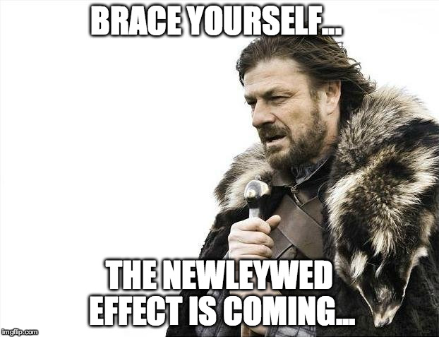 newleywed effect