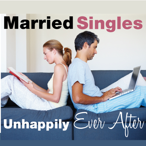 unhappy together in marriage