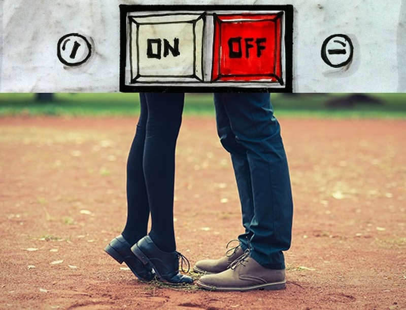 on and off relationships are trouble