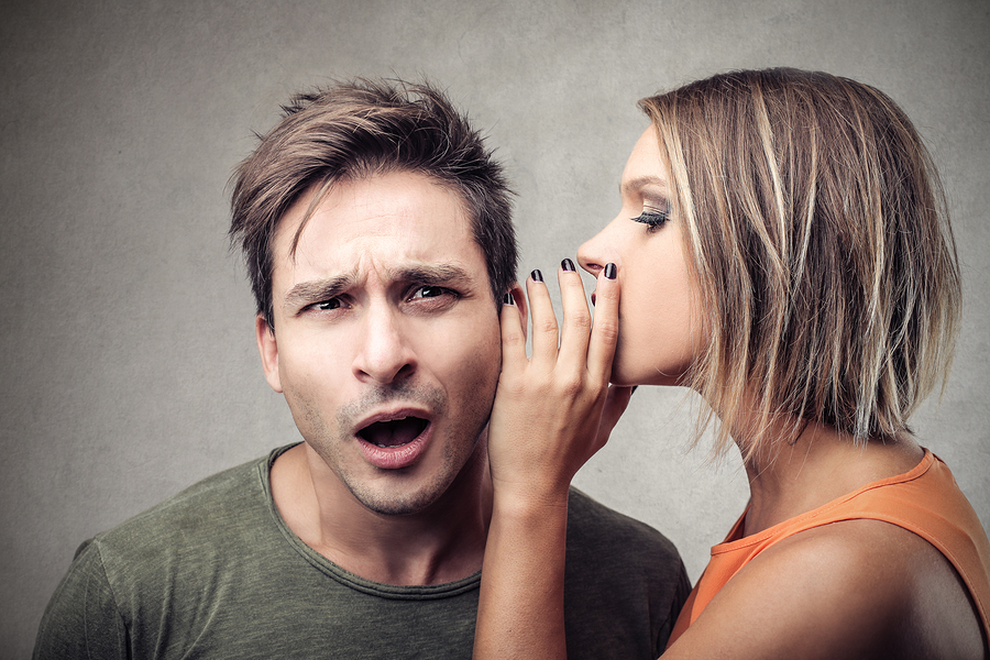 whisper truth in husband's ear